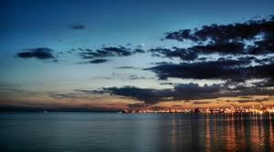 The harbour of Thessaloniki